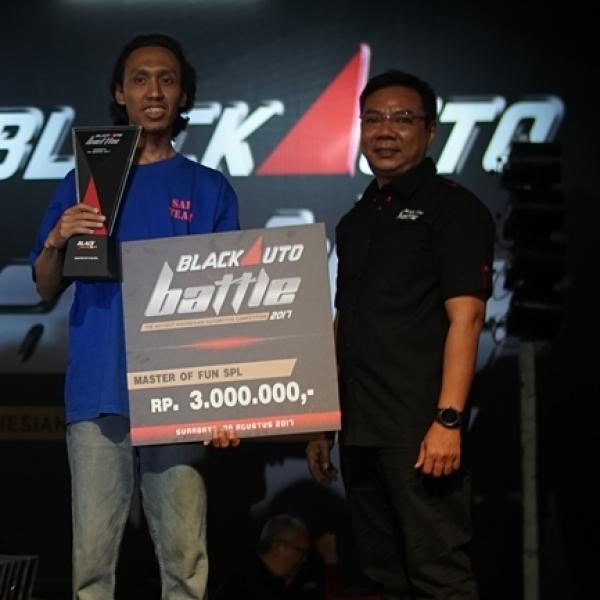 BlackAuto Battle Surabaya 2017: Eri Singkirkan Lawanya Dikelas SPL
