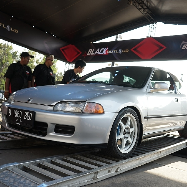 Honda Civic Estilo Raih Juara Kelas N/A BlackAuto DynoTest Jakarta