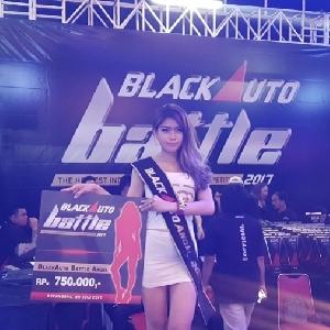 Jasmine, Gadis Sensual Sabet Gelar BlackAuto Angel 2017 Pekanbaru