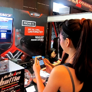 Hari Kedua di Final BlackAuto Battle 2016: Games What Car makin memikat pengunjung