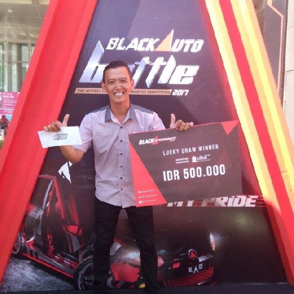 BlackAuto Battle 2017 Surabaya - Banjir Hadiah