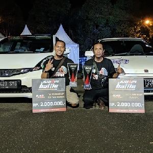 Jazz Putih Tim Meloncroot, Sabet Juara II di BlackAuto Battle Purwokerto