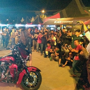 Anissa Panaskan Suasana Blackshot Challenge  Black Auto Battle Makassar