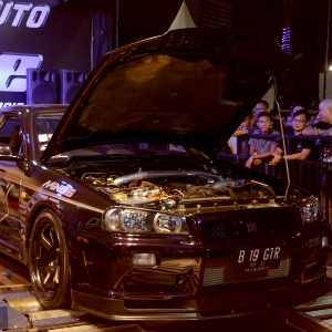 FFA Dyno Final BlackAuto Battle 2016 Surabaya : Battle of the Godzilla Brothers