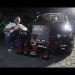 Odyssey Hitam Sabet Best Black Car di BlackAuto Battle Warm Up 2019