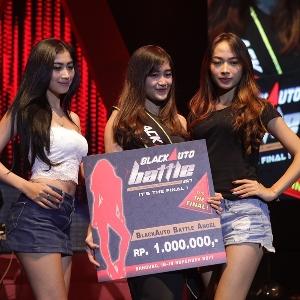 Isra Soraya Sabet BlackAuto Angel 2017 Bandung