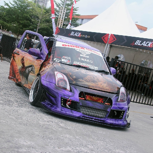 Diora Project, Modifikasi Suzuki Swift Street Racing Freak