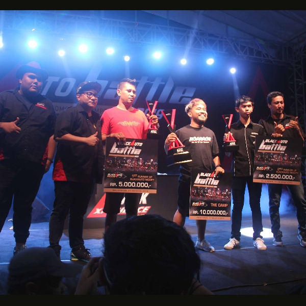 Daftar Pemenang All Categories BlackAuto Battle 2019 Balikpapan