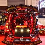 Honda Freed Bergaya Transformers Mejeng di BlackAuto Battle 2018 Surabaya