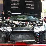 Tenaga Toyota Supra Hitam Ini Bikin Decak Kagum Pengunjung Final BlackAuto Battle 2018 Surabaya