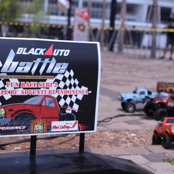 Juara Fun Race Seri 2 Mini Scale Adventure di BlackAuto Battle Warm Up Jakarta 2019