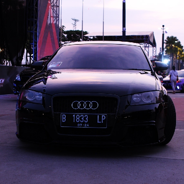 Audi A3 Hitam Full Spek Raih European Sleeker di BlackAuto Battle Warm Up Day 2