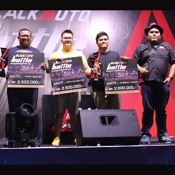 Daftar Pemenang All Categories BlackAuto Battle Warm Up 2019 Jakarta Day 2