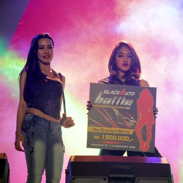 Final Miss Black Auto Battle 2015, Keluarkan Potensi Ella
