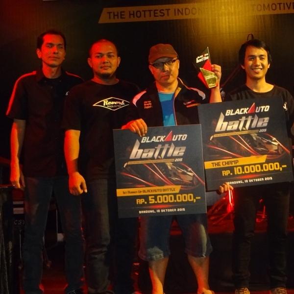 Daftar Pemenang BlackAuto Battle Bandung 2015