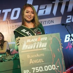 Meyriska Yuki Raih Mahkota BlackAuto Angel 2018 Purwokerto