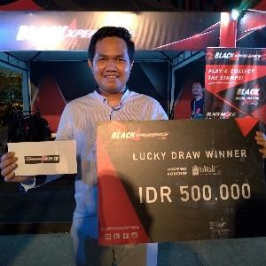 Ini Pengunjung yang Beruntung di BlackAutoBattle 2018 Makassar