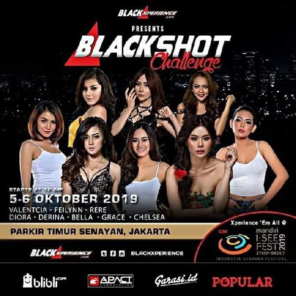 Blackshot Challenge BlackAuto Battle 2019 Jakarta, Bakal Diramaikan Model Popular dan Hadiah Menarik