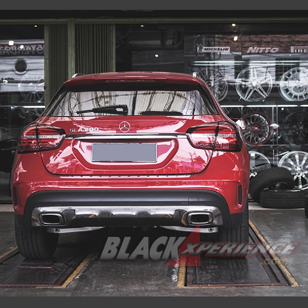 Modifikasi Velg Mercedes Benz GLA Class