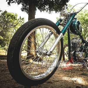 Modifikasi Kawasaki Binter Merzy, Trend Chopper yang Tak Pernah Pudar