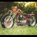 Nella KZ200, Penyegaran Boardtracker ala Busi Custom Motorcycle