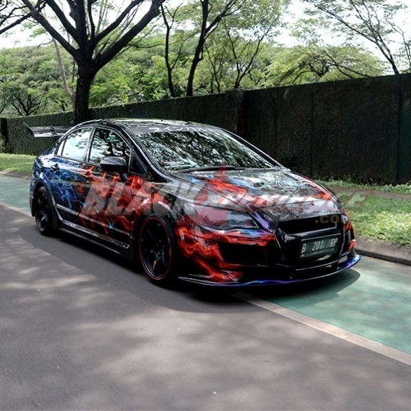 Modifikasi Honda Civic FD, Street Racing Anti Mainstream