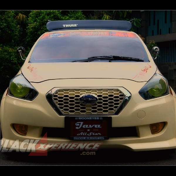 Modifikasi Datsun Go Java All Star Wajah Mobil Tempoe Doeloe