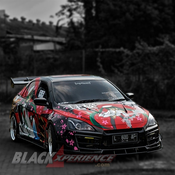 Modifikasi Honda Accord Street Racing Unconventional