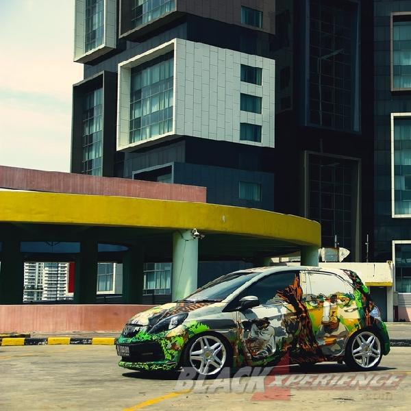 Modifikasi Honda Brio Pacman, Abstract of Illusion