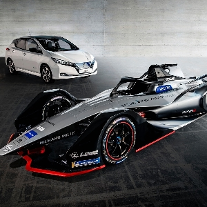 Mobil Formula E Baru dari Nissan