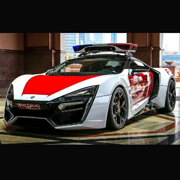 Polisi Abu Dhabi Jadikan Lykan Hypersport Sebagai Mobil Patroli
