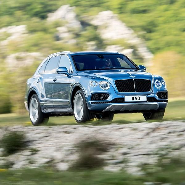 Bentley Jejali Bentayga Dengan Mesin Diesel