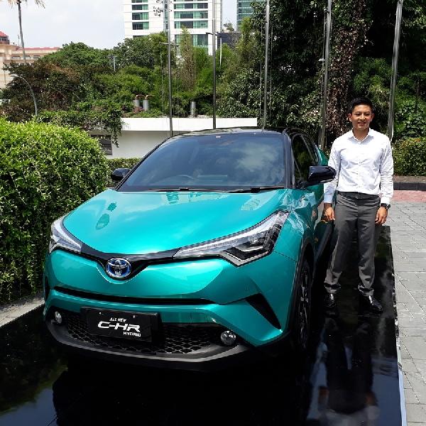 Toyota Indonesia Lengkapi Klan Hybrid-nya Dengan C-HR Hybrid
