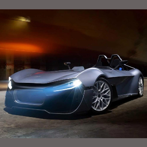 Kinetik 07 Tantang Supremasi Tesla Roadster