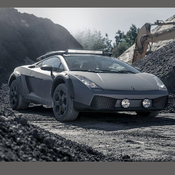 Netizen, Sambutlah Lamborghini Gallardo Off-Road!