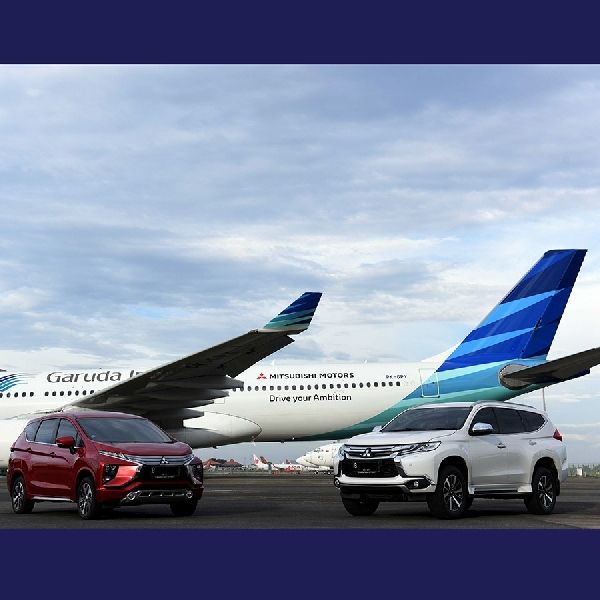 Mitsubishi Dibawa Garuda Indonesia Terbang Ke Jakarta-Nagoya