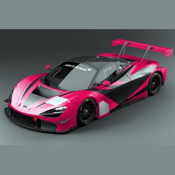Inilah Satu-Satunya Mclaren 720S GT3 Warna Pink Yang Akan Turun Balap
