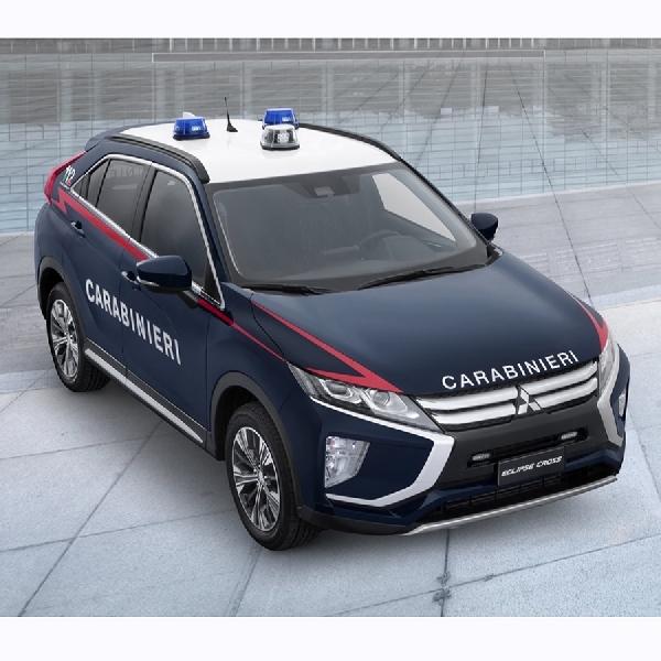 Mitsubishi Eclipse Cross Jadi Mobil Dinas Polisi Italia