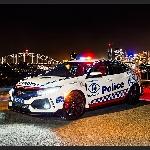 Ngerih, Honda Civic Type R Dijadikan Mobil Polisi
