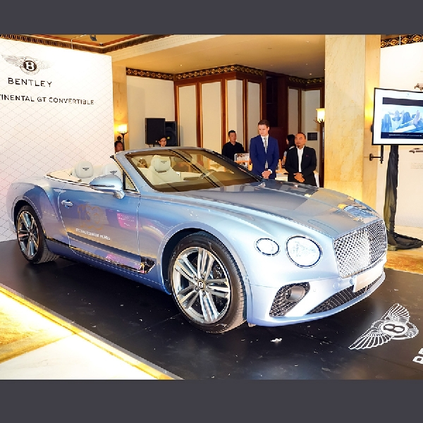 Di Usia 100 Tahun, Bentley Datangkan New Continental GT Convertible Ke Indonesia