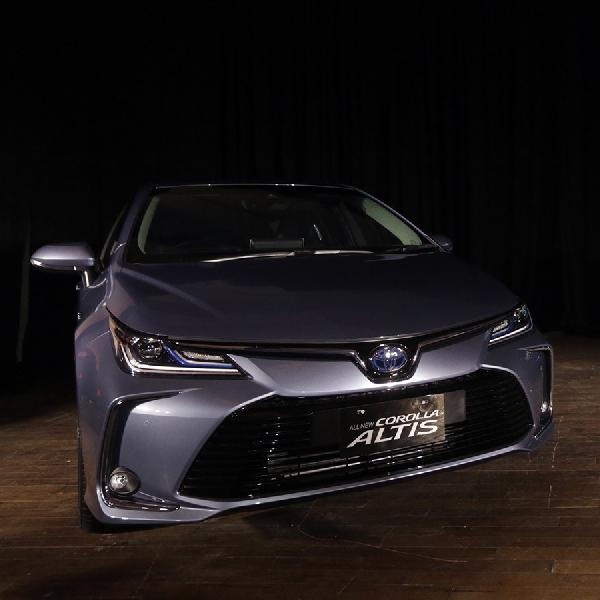 All New Toyota Corolla Altis Bawa Teknologi Hybrid