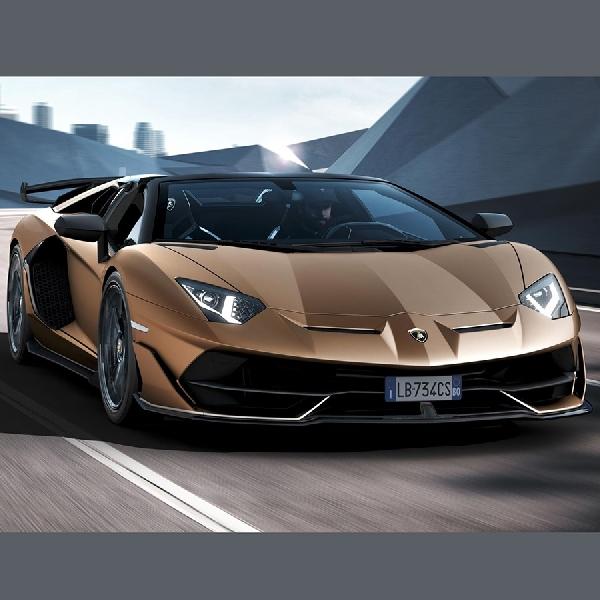 Cuma 800 Unit Lamborghini Aventador SVJ Roadster Dibuat