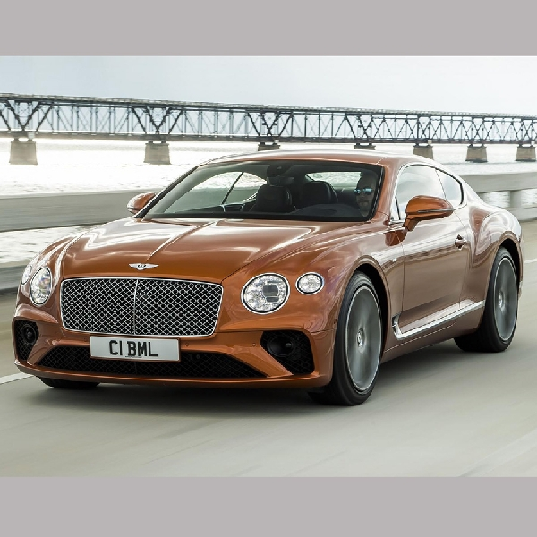 Bentley Taruh Mesin V8 Ke Continental GT