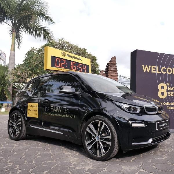 BMW i3s Didaulat Jadi Lead Car Ajang Marathon Bali 2019