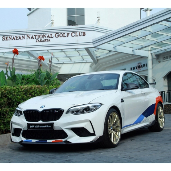BMW Indonesia Rilis M2 Competition Dengan M Performance Parts
