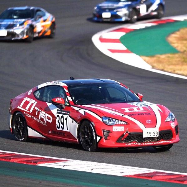 Demas Agil Tampil Kompetitif Pada Toyota Gazoo Racing Festival
