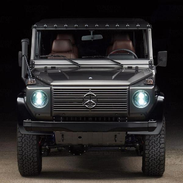 Modifikator Ini Spesialis Restorasi Mercy G-Wagen Eks Militer