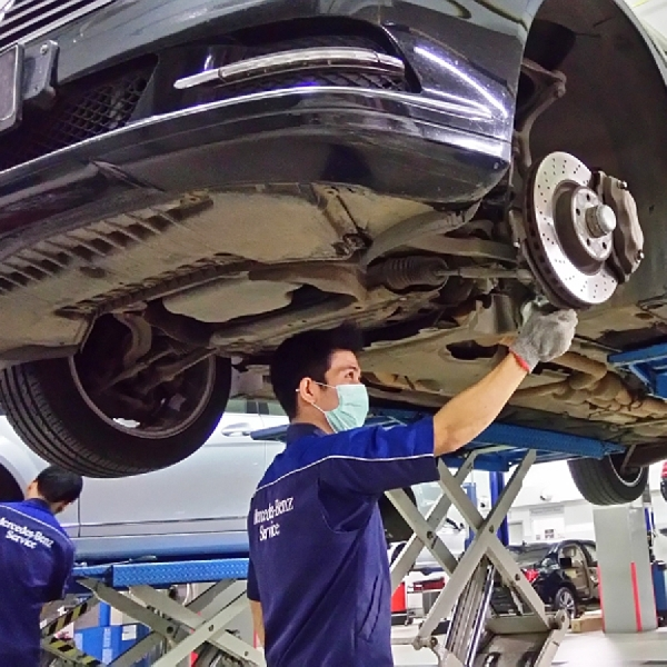 Mercedes-Benz Indonesia Mengadakan National Service Weeks