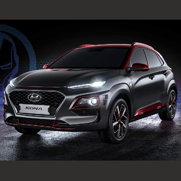 Hyundai Merilis Kona Iron Man Edition