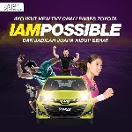 Ajak BlackPals Sehat, Toyota Bikin Ajang IAMPOSSIBLE dan Healthy Race
